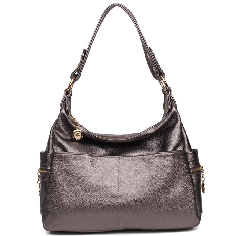 Hot Sale 2016 Fashion Designer Brand Women Genuine Leather Handbags Ladies Shoulder Bags Female Tote Retro Vintage Messenger Bag<br><br>Aliexpress