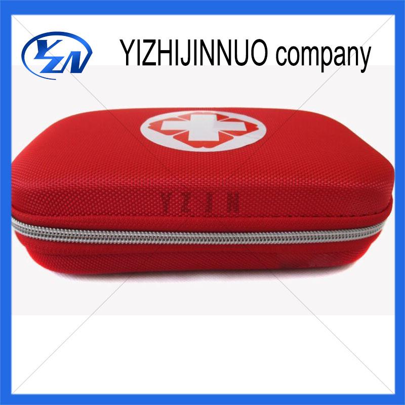 Наружный путешествия мини-автомобиля аптечка первой помощи сумка дома небольшой медицинский коробка комплект аварийного размер 20 * 12 * 5.5 см