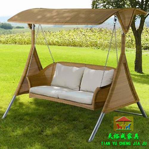 outdoor swing rattan swing outdoor furniture balcony