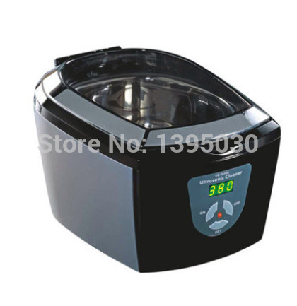 1pcs 220 ~ 240V Timer Jewelry Dental Watch DVD VCD 5 Cycles Codyson CD-7810A Ultrasonic Cleaner free shipping by DHL(China (Mainland))