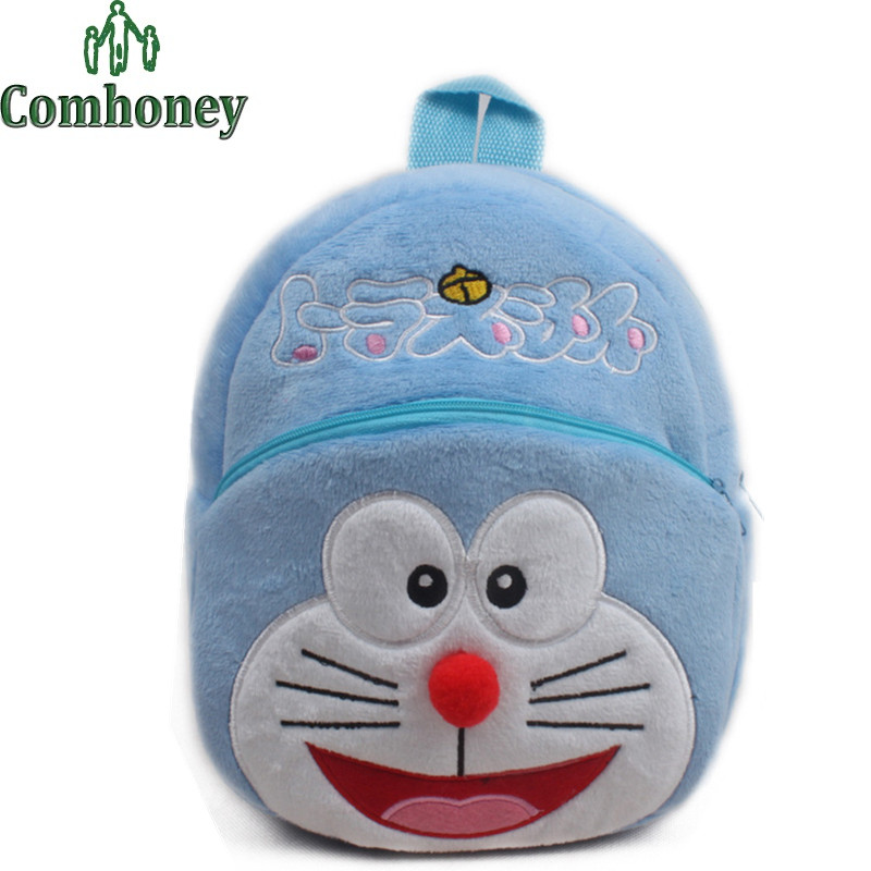 Kindergarten Backpacks Spongebob Stitch Plush Bags for Infant Baby Girls Boys School Backpack Cartoon Plush Backpack Schoolbags(China (Mainland))