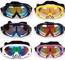New Men Women Ski Snowboard Anti-fog Snowmobile ATV Cruiser Motorcycle Motocross Goggles Off-Road Bicycle Racing Eyewear Glasses(China (Mainland))