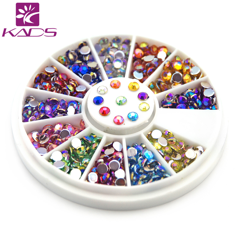 2014 NEW Arrival 3MM 600pcs12Color Styles Colorful Nail Art Tips Crystal Glitter Rhinestone Foshion Nail Art DIY Decoration(China (Mainland))
