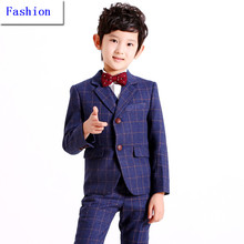 Party Boy ropa ( Coat + Pants + Tie + Vest + camisa ) 5 unidades BF805 por encargo fumar Casamento tarde Tuxedo Suit ropa Boy(China (Mainland))