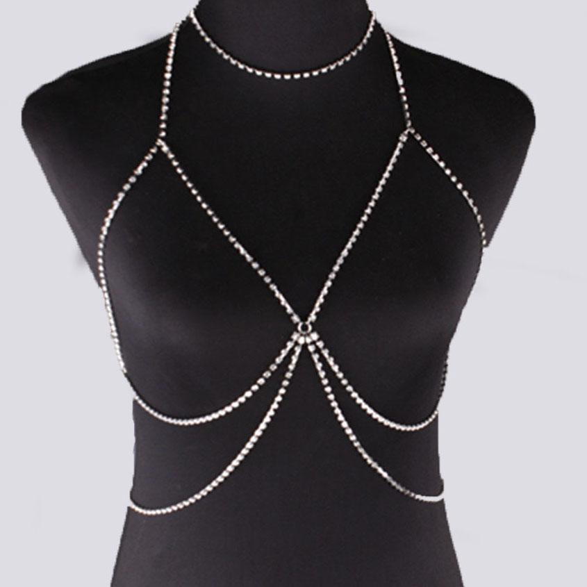 Popular Rhinestone Choker Belly Chain-Buy Cheap Rhinestone ...