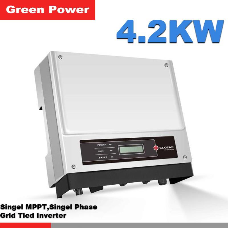 GW4200-NS Goodwe solar energy inverter,,USB/RS485/WIFI communication optional,high quality inverter TUV IEC VDE certification(China (Mainland))