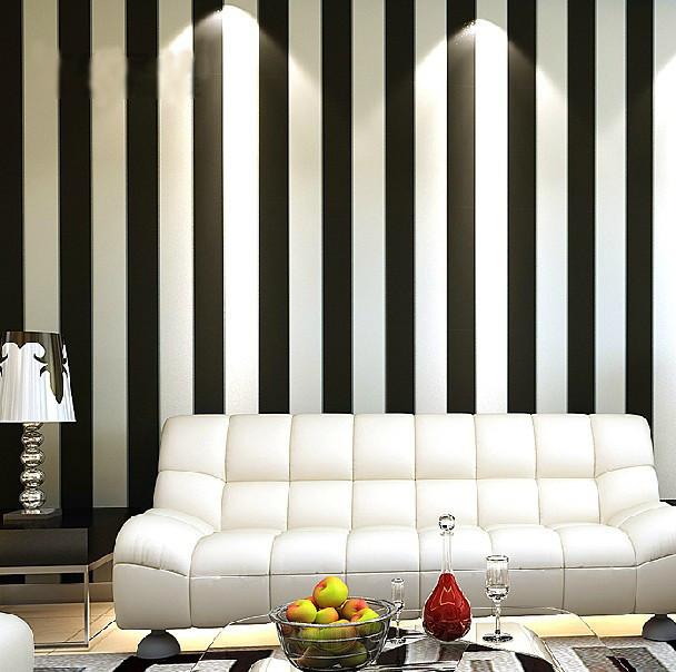 Zebra Modern Brief Vertical Black And White Stripe