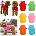 2017 Hot Sale Lovely Summer Pet Dog Collar Puppy Polo T Shirt Dog Clothes Outfit Apparel