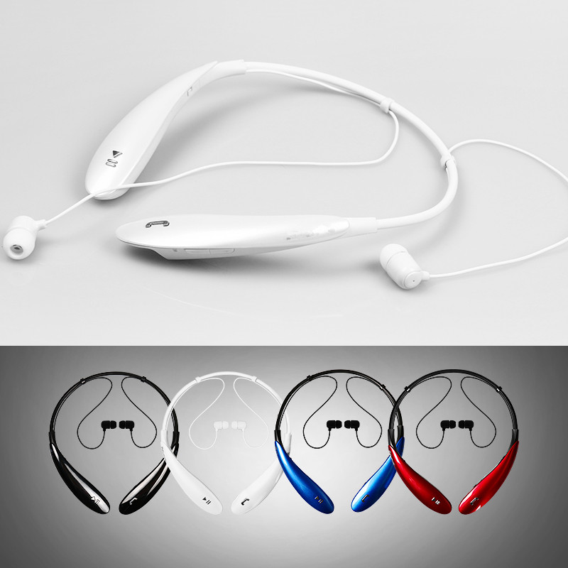 Neckband Bluetooth Headset Wireless Sports Stereo Earphone with Microphone For Moblie Phone LG HBS800 & HBS-800 IPHONE,Samsung(China (Mainland))