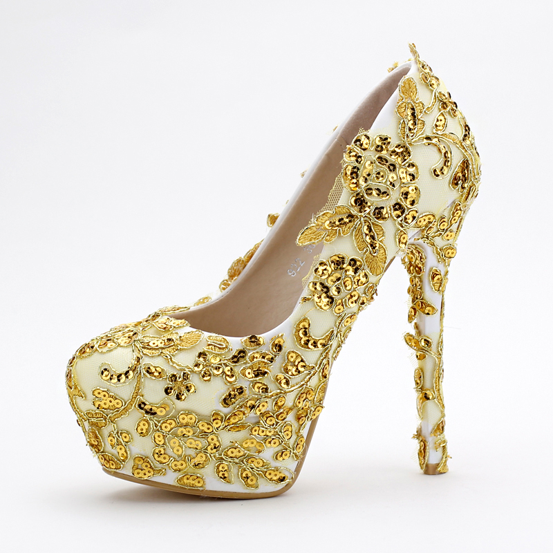 Gold Sequin Dress Shoes Promotion-Shop for Promotional Gold Sequin ...