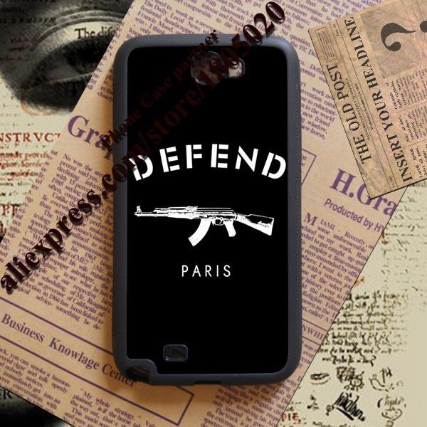 2015 DEFEND PARIS AK47 Custom made fashion original cell phone case cover for Samsung Note 2 3 4 cases(China (Mainland))