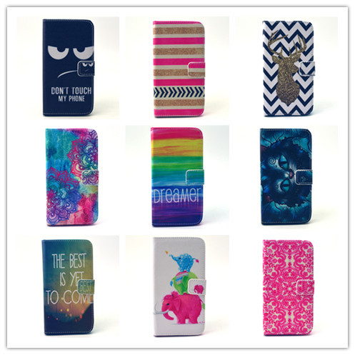 New Arrival Magnetic Flip Stand Wallet Pouch PU Leather Cell Phone Cases For Samsung Galaxy S5 I9600 Silicon Back Covers(China (Mainland))
