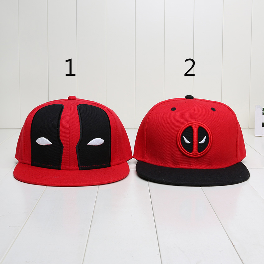 New Fashion Deadpool Summer Baseball Hat For Men Women Casual Bone Hip Hop Snapback SWAG Cap figure toys(China (Mainland))