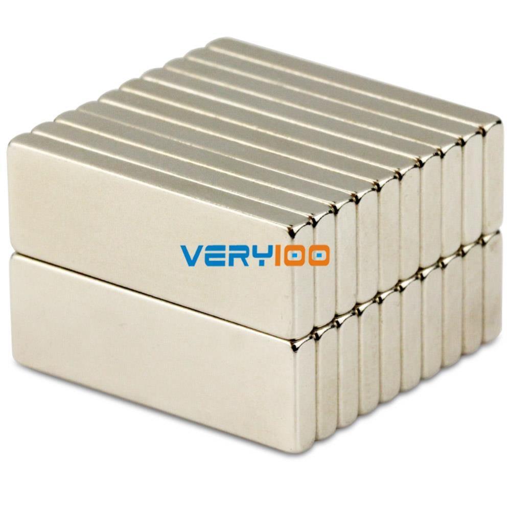 20pcs N50 Bulk Super Strong Strip Block Bar Long Magnets Rare Earth Neodymium 30 x 10 x 3 mm Free Shipping!<br><br>Aliexpress