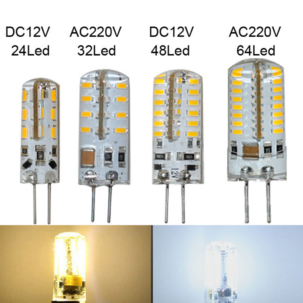 G4 led light lamp 1 Piece AC12V/AC220V 3W 4W 5W 6W 9W quality SMD 3014 led lighting Silicone LED Bulb Chandelier in stock<br><br>Aliexpress