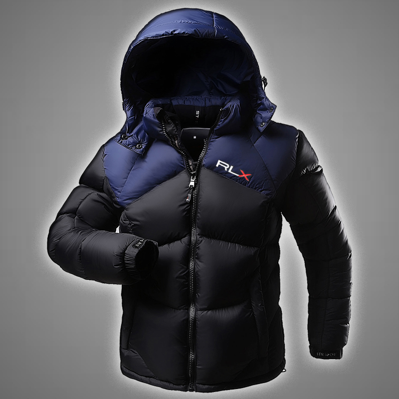 Фотография 2016 New Brand Jacket Men Winter Warm Thicken Cotton-Down Parka Jacket Sportswear Outdoor Ski Suit Jacket Waterproof Coat