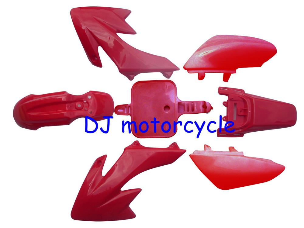 Full colors CRF50 dirt bike plastic cover Colorful XR50 pit bike plastic kits for 70cc 90cc 110cc 125cc 140cc 150cc 160cc(China (Mainland))