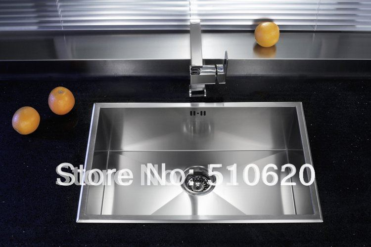 FR507 High-quality new style Kitchen undermounted stainless steel single sink<br>