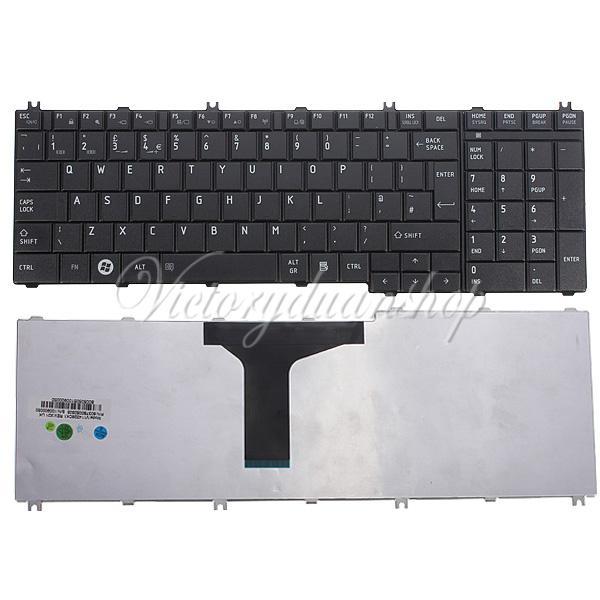 Компьютерная клавиатура Toshiba C660 C660d C665 C665d UK