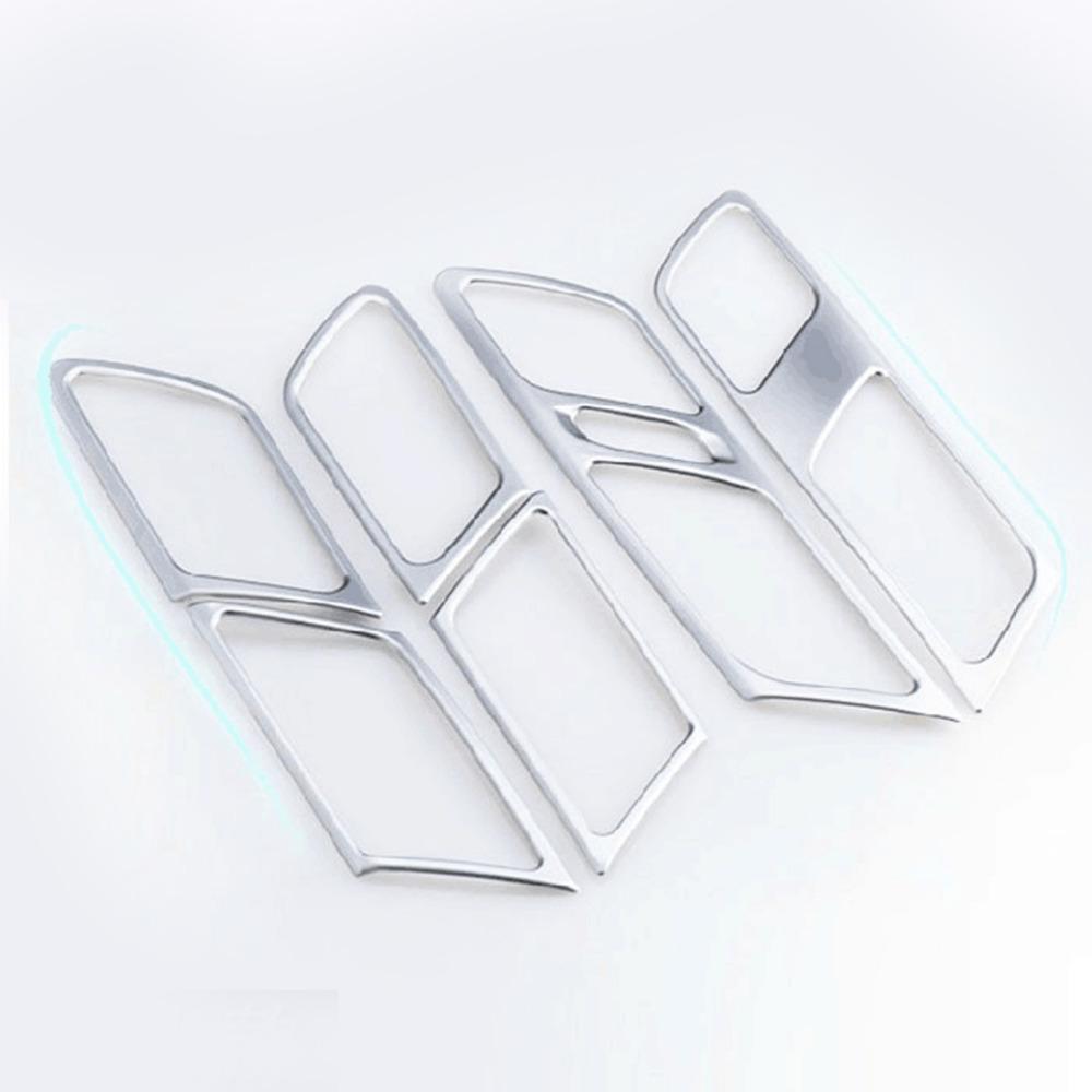 Car Stickers ABS Chrome Interior Door Shake Handshandle Volkswagen Vw Jetta MK6 2012-2014 - Best Auto Parts From Factory store