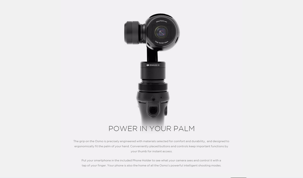 Fast Shipping 100% Original DJI Osmo Handheld 4K Camera and 3-Axis Gimbal Aerial Photography Newly Releasing Hot