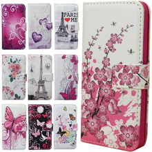 Deluxe Leather Magnetic Design Stand Wallet Card Slot and Money Slot Hard Cover Flip Case For