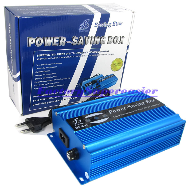 20pcs/lot 50KW Power Energy Saver Electricity Saving Box Up to 35% Money With EU Plug For House Office Shop CE RoSH 2015 HOT(China (Mainland))