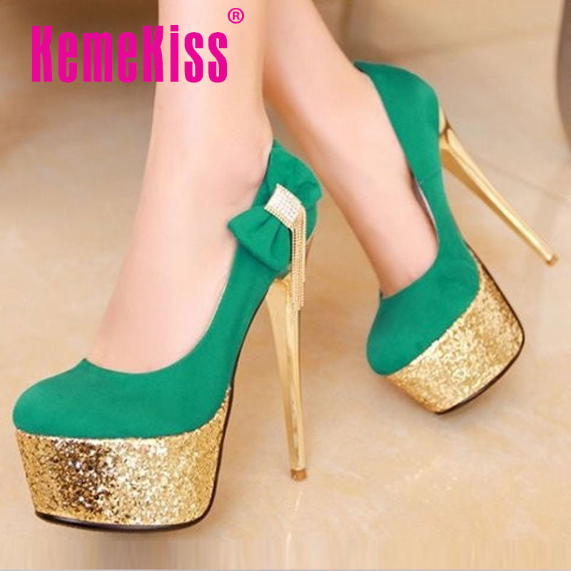 CooLcept free shipping high heel shoes platform fashion women dress sexy pumps heels P12400 hot sale EUR size 34-39<br><br>Aliexpress
