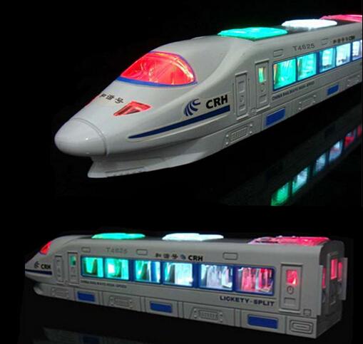 Universal trains, electric high-speed train simulation, Harmony EMU high-speed rail model trains children's toys(China (Mainland))