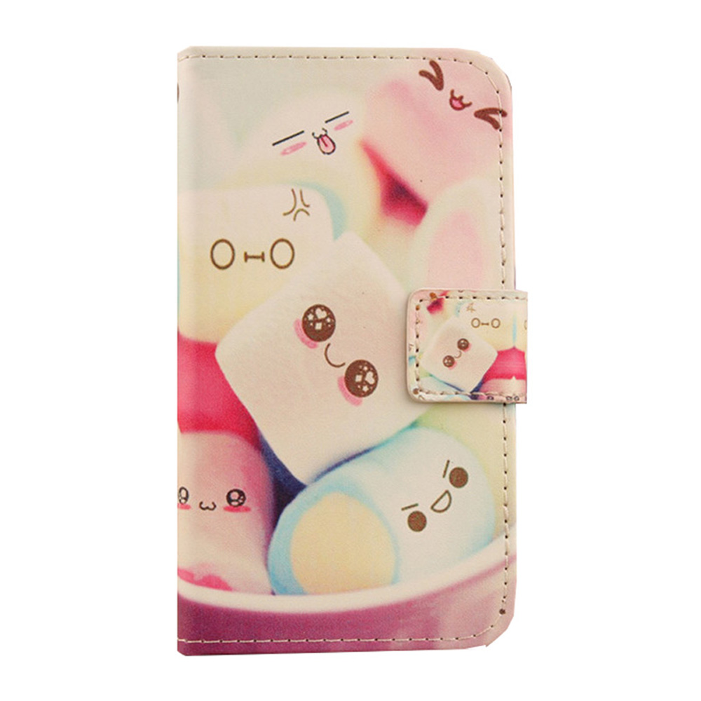 AIYINGE Book Style PU Leather Mobile Phone Pouch Flip With Card Slot Case For LANDVO V80 5(China (Mainland))