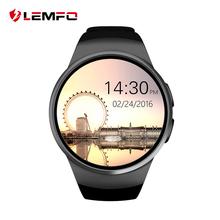 Hot kw18 Smart Watch Bluetooth 4.0  IPS Full Round Smartwatch For apple Samsung Gear S2 IOS Android phones pk k88h gt08 dz09 u8(China (Mainland))