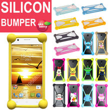 Uhans A101 S1 U100 Silicone Rubber Bumper Cushion Case Cover Protector - AKSBERRY store