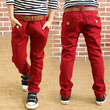 Retail High quality spring kids pants baby boys pants children sport trousers casual pants for boys toddler clothing 4-14T