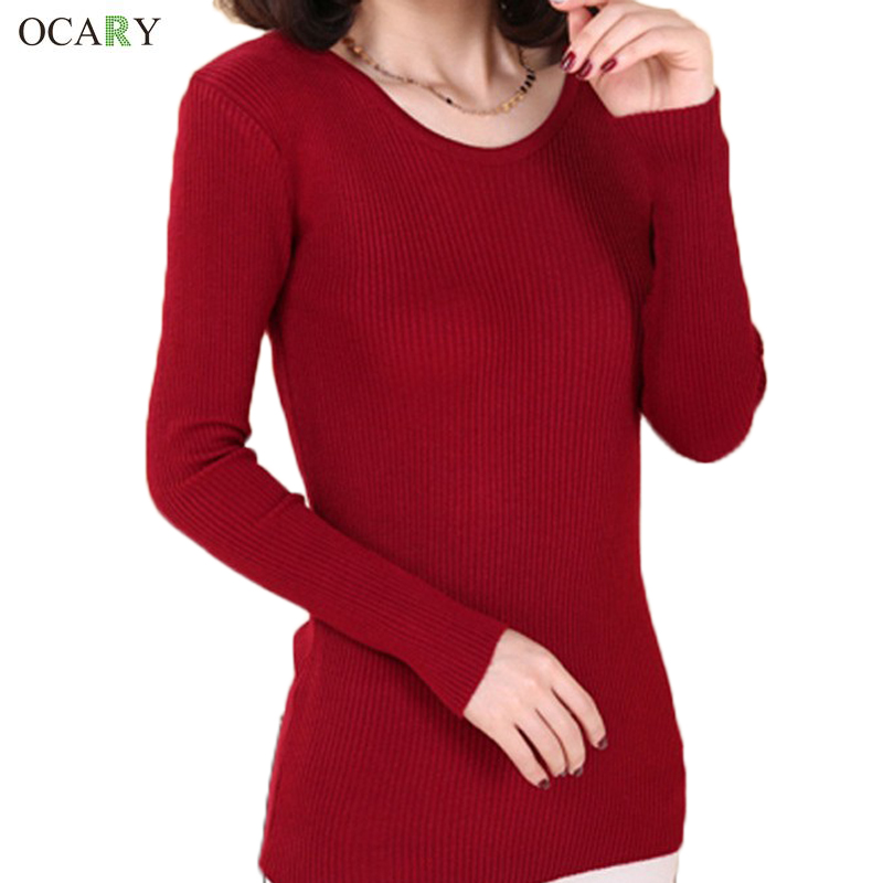 New Winter Women Casual Long Sleeve Knitted pullover Autumn Crochet pullovers Sweaters 2016 Women Fashion Tricotado Sweaters(China (Mainland))