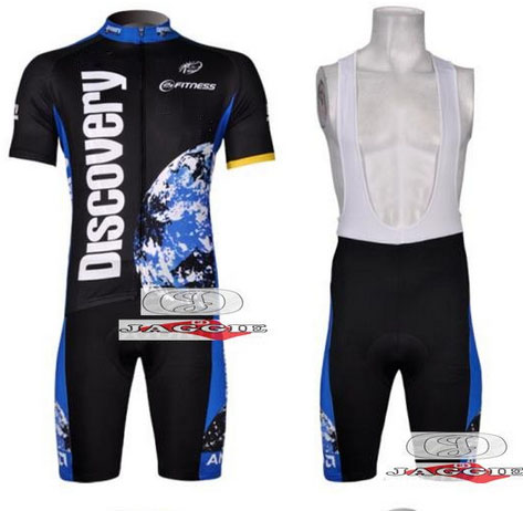Free shipping! 2007 Discoverys team cycling jersey and bib shorts / short sleeve jerseys pants bike bicycle wear clothes set<br><br>Aliexpress