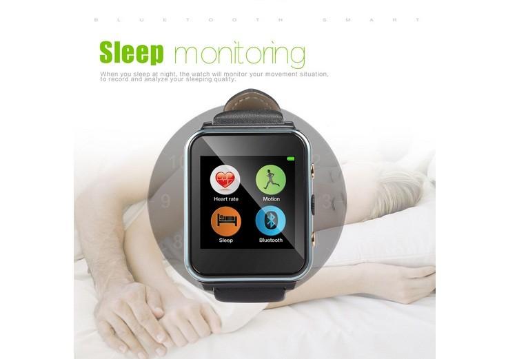ถูก I400สมาร์ทนาฬิกาอัจฉริยะGSMกล้องนาฬิกาปลุกโทรศัพท์กับกิจกรรมเตือนนอนH Eart Rate MonitorสำหรับA Ndroid IOS