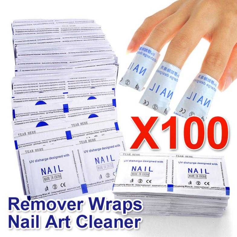 Belen 2015 High Quality 100 Pcs / Lot Gel Polish Remover Wraps Manicure Nail Gel Polish Nail Art Cleaner Drop Shipping(China (Mainland))