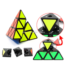 Pyramid Magic Cube Triangle Shape Cubos Pyraminx Speed Puzzle Cube Game Magicos Twist Puzzle Learning Educational Toys(China (Mainland))