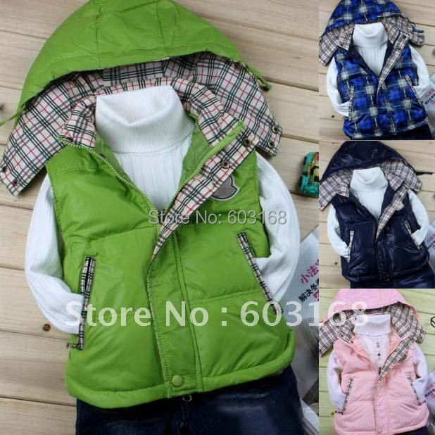 Retail New Style Excellent Fine Green Duck Down Jacket Childrens Outerwear[iso-11-8-30-A6]<br><br>Aliexpress