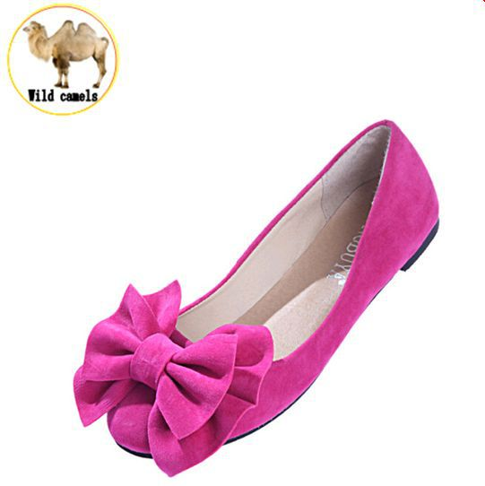 new 2015 spring summer bow women single shoes flat heel soft bottom ballet work flats shoes woman moccasins size 35-43 free ship<br><br>Aliexpress