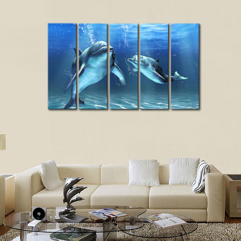 Online kopen wholesale dolfijn pictures print uit china dolfijn pictures print groothandel - Versieren kantoor ...