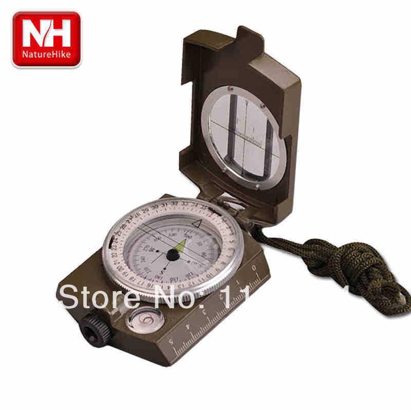 Multifunctional Lens Digital Geological American Compass Marine Outdoor Camping Military Sports Navigator Equipment-NatureHike(China (Mainland))