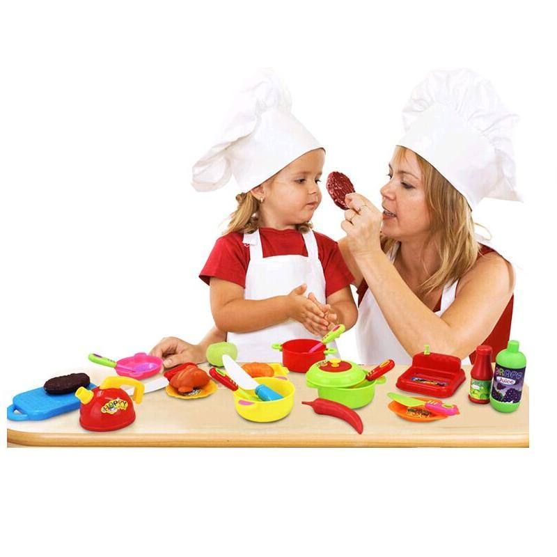 9pcs kids kitchen toys children classic pretend play set for Cocina juguete aliexpress