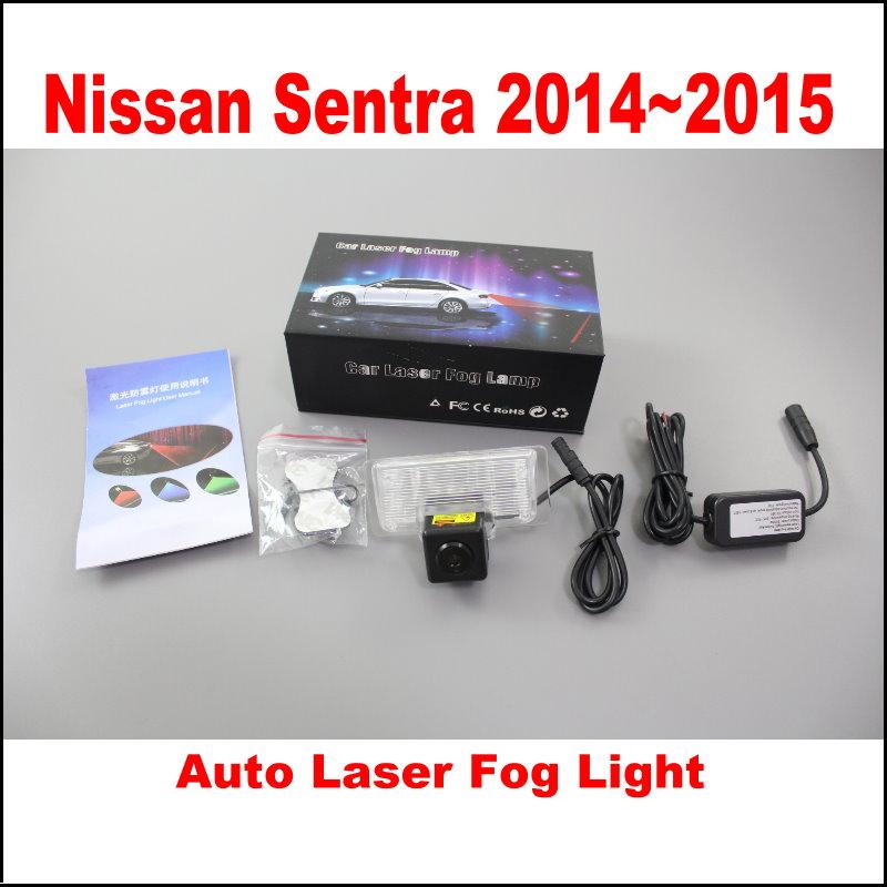 Car Rain, Snow, Haze The Lights Laser Super Waterproof Dust-Proof Fog Light, Safety Lights / For Nissan Sentra 2014~2015