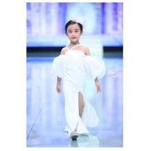 Белое платье русалки возраст от 3 до 14 лет, винтажное благородное платье для выпускного вечера для девочек-подростков, детское платье для ро...(China)