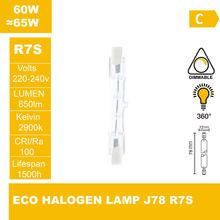 ECO halogen lamp  J78 220-240V 60W R7S Halogen light halogen bulb(China (Mainland))