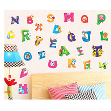 Buy Wall Stickers Free English Letters Alphabet Removable Wall Glass Art Decal Sticker Kids Mural NH for $1.42 in AliExpress store