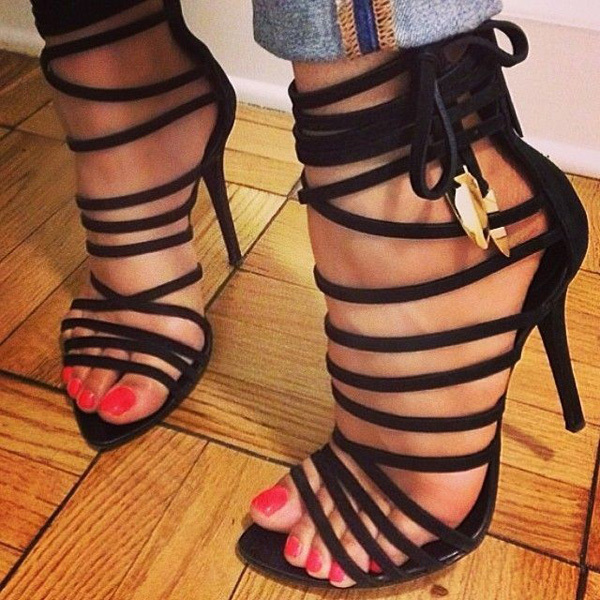 Online Get Cheap Cheap Strappy High Heels -Aliexpress.com ...