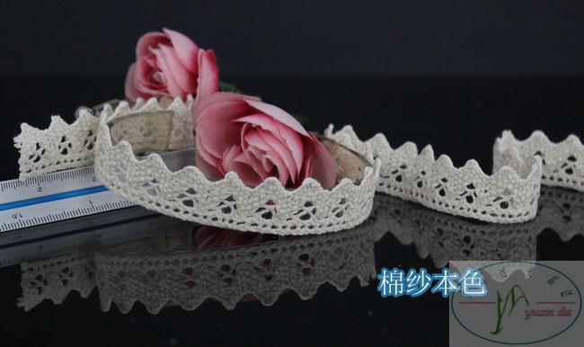 Wholesale 1.6cm lace trim,Christmas DIY crafts,Christmas gift packing lace,DIY clothing accessories, handicraft decorate lace