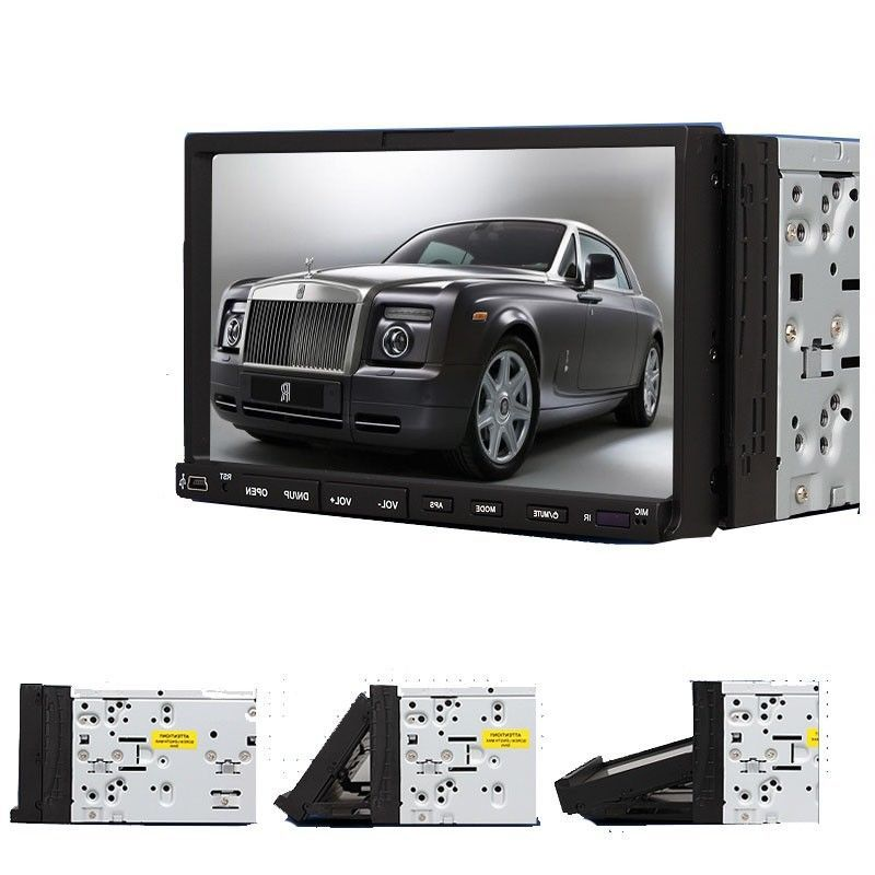 """7"""" Double 2Din Touch Screen Car Stereo Video Player No-GPS RDS FM AM Radio in-dash Car Audio DVD Player USB+Free 4GB SD Card(China (Mainland))"""